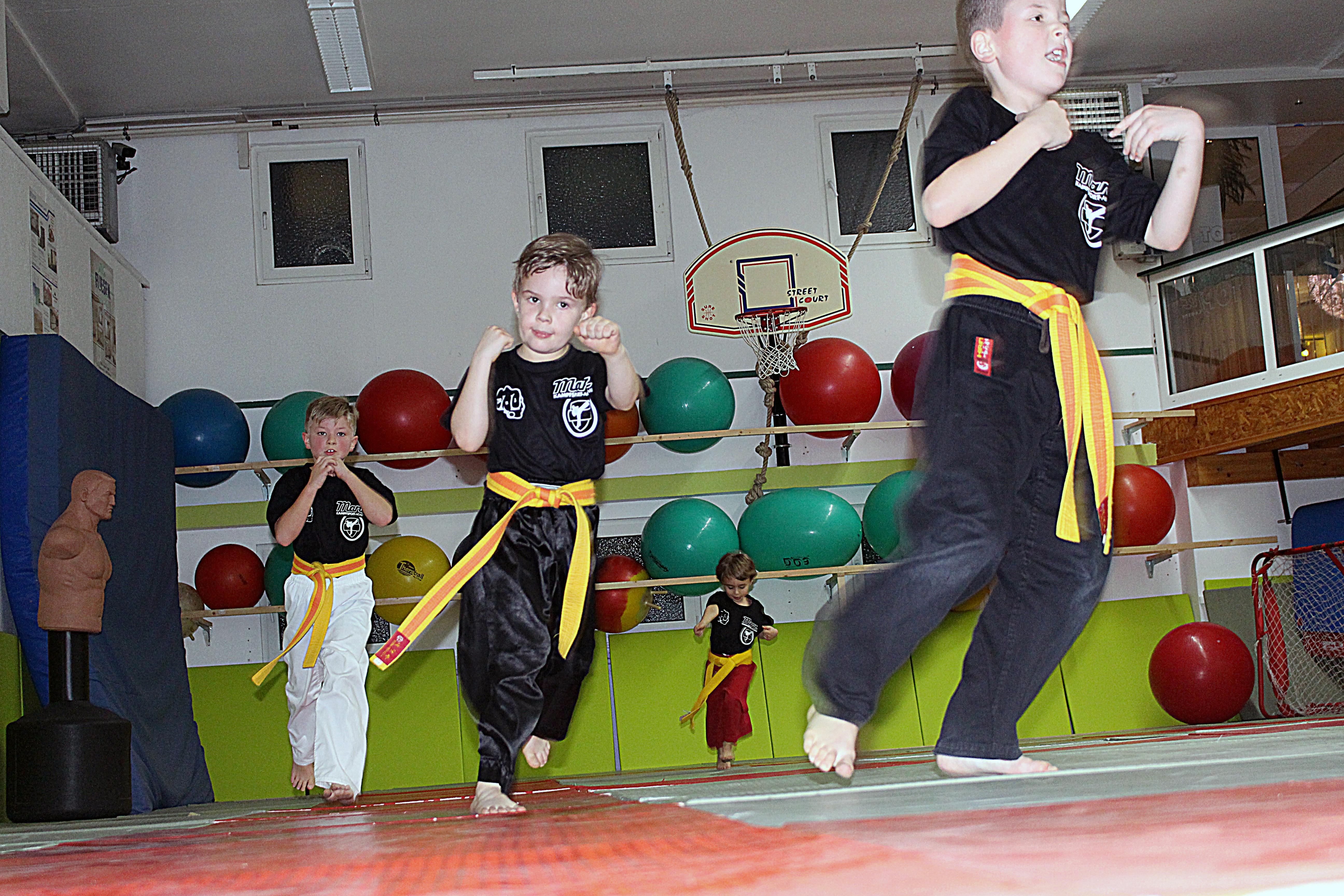 Kinder- Kickboxen